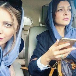 تبریک جالب ساره بیات به مناسبت تولد خواهرش (همسر رضا قوچان نژاد)