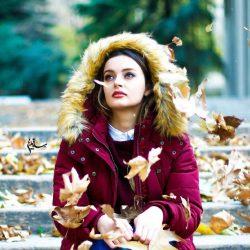عکسهای جدید و زیبای نیلوفر پارسا با استایل پاییزی