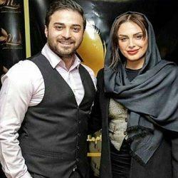 عکس سلفی بابک جهانبخش و همسر جدیدش