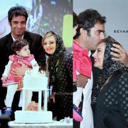 جشن تولد دختر یکتا ناصر و منوچهر هادی در اکران خصوصی آینه بغل / تصاویر