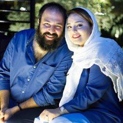 عکس نرگس محمدی و همسرش کنار آرامگاه حافظ