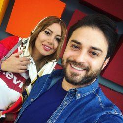 عکس خاص بابک جهانبخش و همسرش