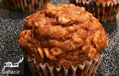 cupcake1 walnut1 دستور تهبه كاپ كیک حلوایی و گردو