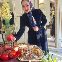 عکسهای جدید بازیگران در شب یلدا ۹۶