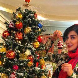 عکسهای کریسمسی زیبا و دیدنی مریم معصومی