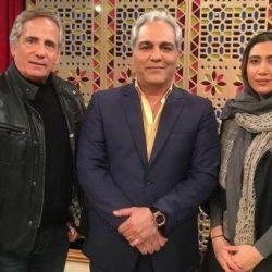 گزارش حضور نیکی مظفری و مجید مظفری در دورهمی ۲۴ آذر ۹۶ + فیلم