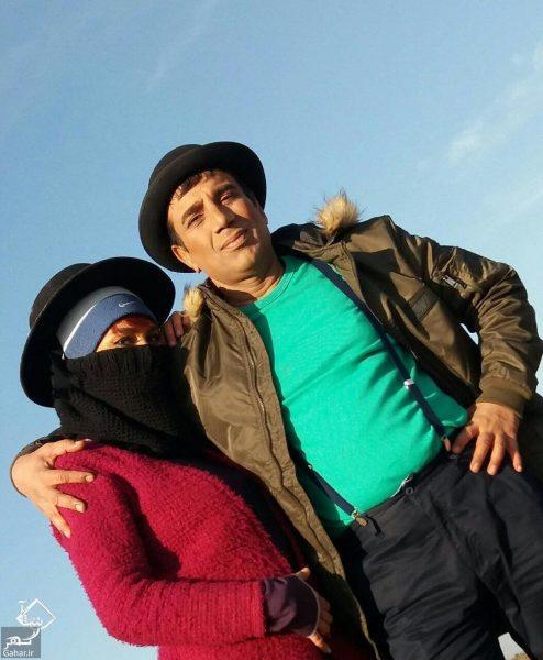 nasrollah radesh 24838978 877225295770849 3549025914425704448 n e1514100318420 عشق و علاقه نصرالله رادش به همسر جدیدش / عکس و متن