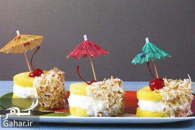 pineapple2 ice cream1 sandwich1 دستور تهیه ساندویچ بستنی آناناسی