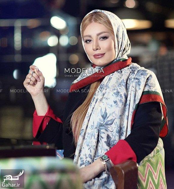 sahar ghoreyshi model سحر قریشی مدل تبلیغاتی شال و روسری شد / تصاویر