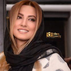 عکسهای زیبای سمیرا حسینی در اکران خصوصی آینه بغل