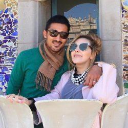 باردار شدن همسر رضا قوچان نژاد و مشخص شدن جنسیت بچه / عکس