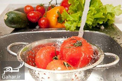 vegetable2 disinfectant2 solution1 طرز تهیه محلول ضد عفونی کننده خانگی برای سبزیجات