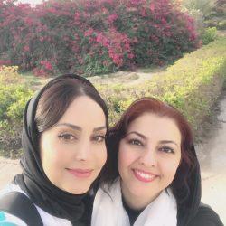 عکس جدید و صمیمانه مریم خدارحمی و آناهیتا همتی