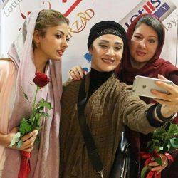عکس دو بازیگر خانم معروف در مزون لباس