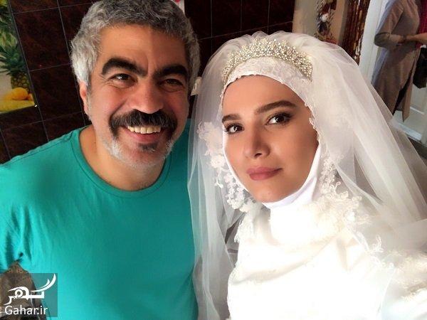 Matinsotudeh عروس شدن بازیگران در لیسانسه ها / عکس های پشت صحنه
