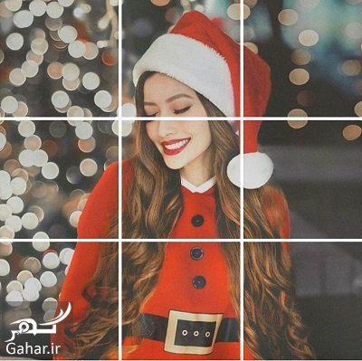 Screenshot  آموزش ساده قرار دادن عکس به صورت پازلی در اینستاگرام