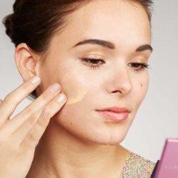 آموزش مراحل پوشاندن جوش با آرایش