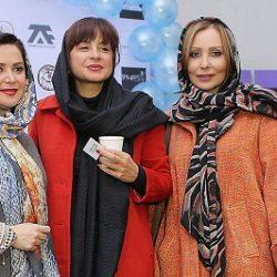عکس خفن تیپ زمستانی بازیگران زن