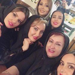 دورهمی بازیگران زن در یک رستوران / عکس