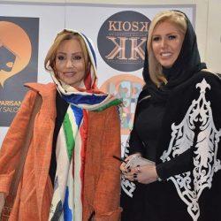 استایل متفاوت پرستو صالحی در افتتاحیه رویداد طراحان برتر لباس در سال ۹۶ / تصاویر