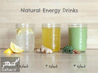 make2 energy drinks1 طرز تهیه نوشیدنی انرژی زا در خانه