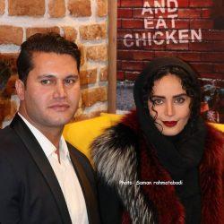 عکسهای زیبای الناز شاکردوست در افتتاحیه رستوران برادرش