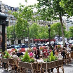 عکسهای دیدنی از خیابان شانزه لیزه پاریس معروف ترین خیابان جهان