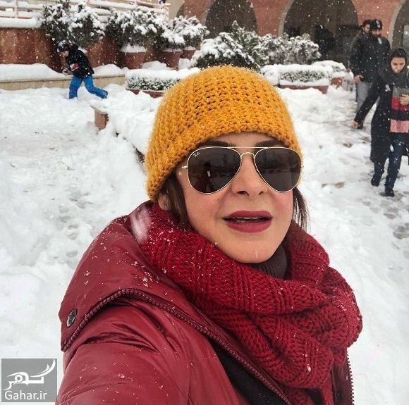sima tirandaz 26353045 231567860718670 6712843771215609856 n عکسهای بازیگران و هنرمندان در روز برفی تهران