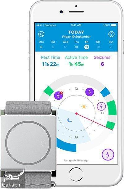 96 11 03ba3615 اختراع یک ساعت برای تشخیص نشانه های تشنج