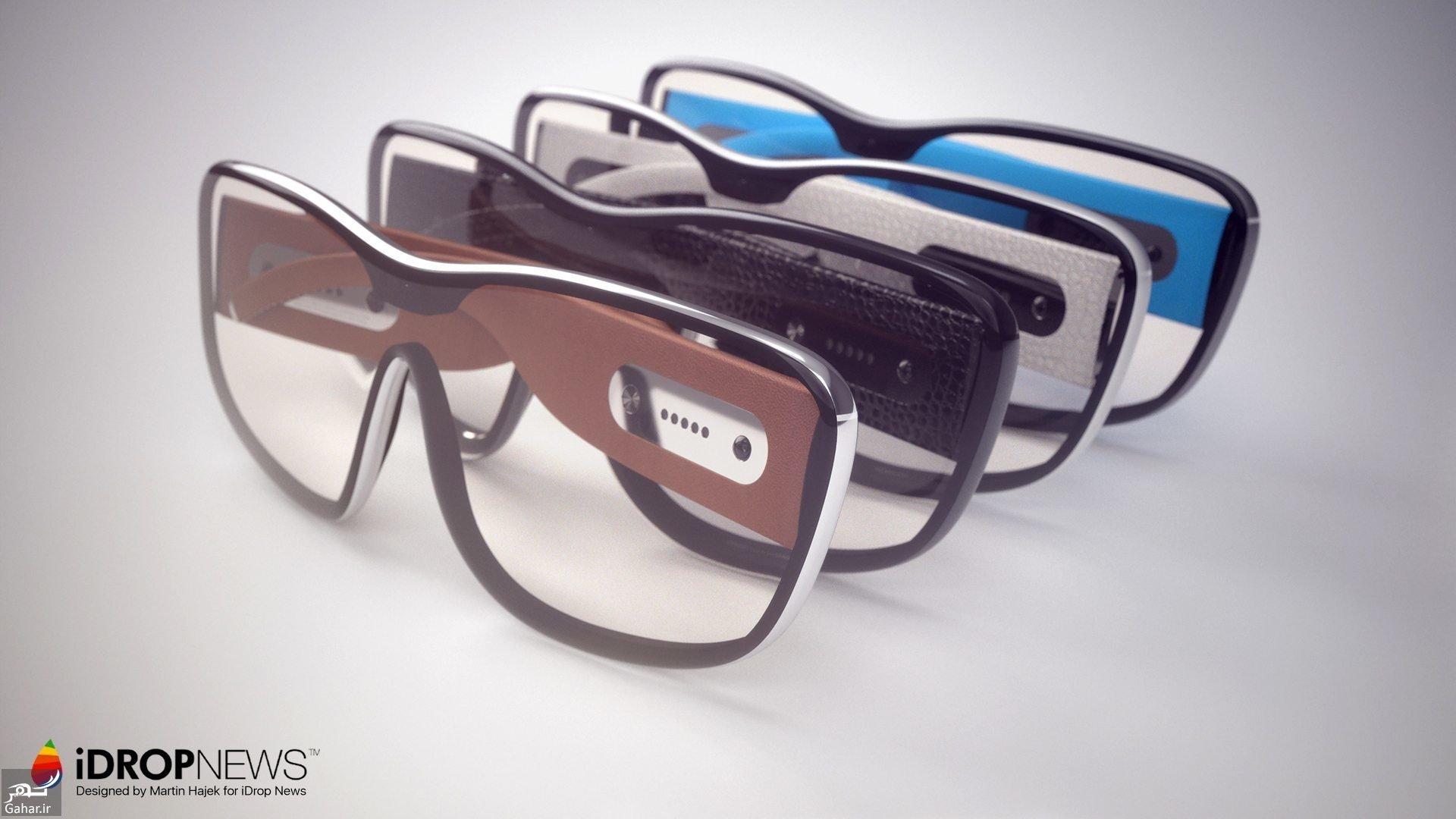 9611 48t3619 رونمایی از عینک هوشمند اپل + عکس