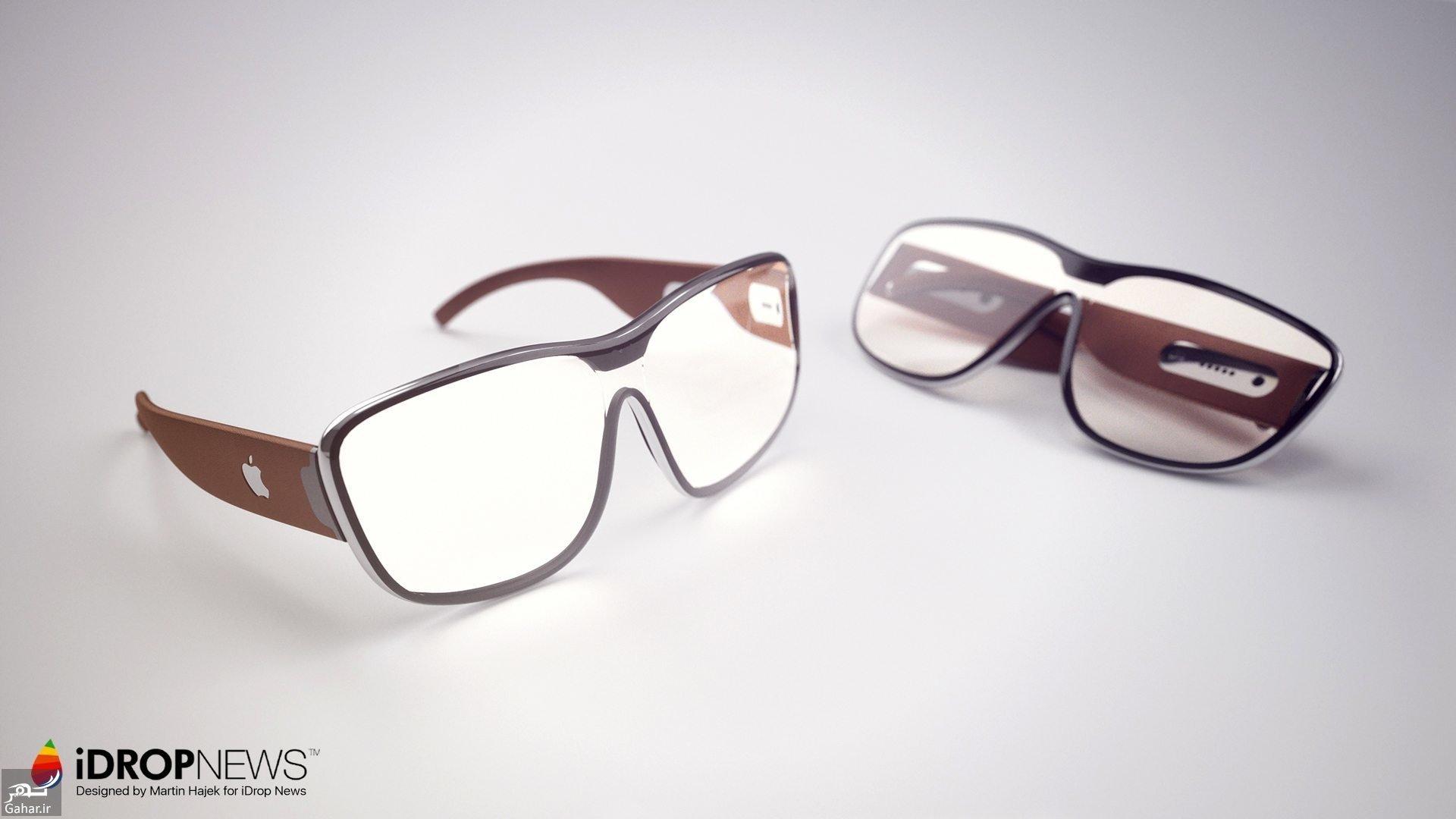 9611 48t3620 رونمایی از عینک هوشمند اپل + عکس