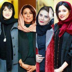 عکسهای بازیگران در اختتامیه جشنواره فیلم فجر ۹۶ / سری دوم