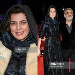 لیلا حاتمی در جشنواره بین المللی فیلم برلین ۶۸ / ۹ عکس