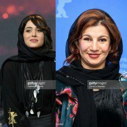 پریناز ایزدیار و لیلی رشیدی در فوتوکال فیلم «خوک» جشنواره برلین / ۷ عکس