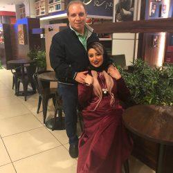 عکسهای جدید مهسا کاشف و پدرش