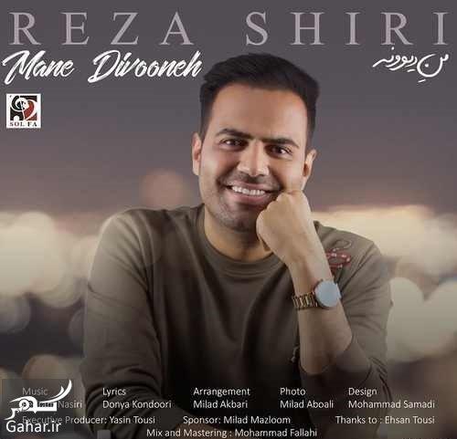 Reza Shiri دانلود آهنگ من دیوونه از رضا شیری