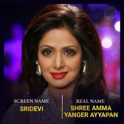 سری دیوی بازیگر هندی + عکسها و بیوگرافی سری دیوی