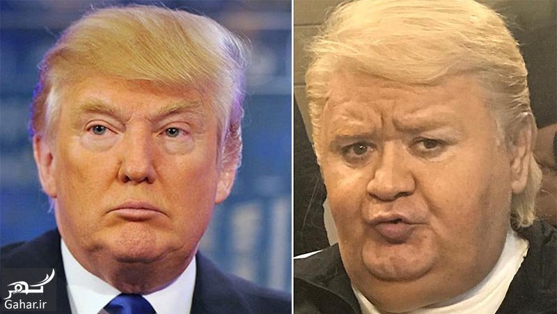 abdi trump عکس اکبر عبدی در نقش ترامپ