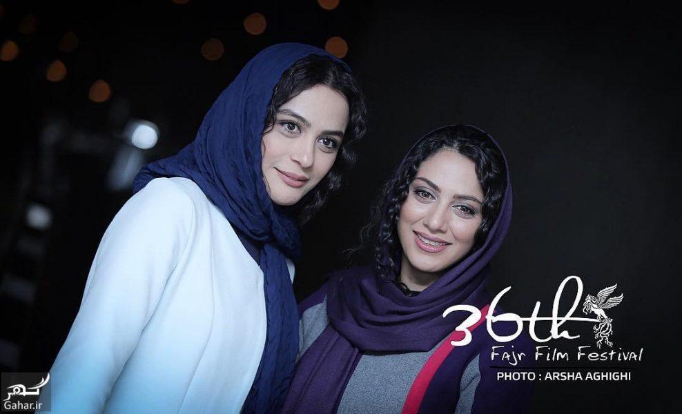 arsha.aghighi   Be8Uoqxneza    e1518117272392 مونا و مارال فرجاد در سی و ششمین جشنواره فیلم فجر / 3 عکس