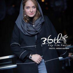 تیپ مهناز افشار در روز هشتم جشنواره فیلم فجر ۳۶ / ۷ عکس