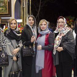 عکسهای بازیگران در افتتاحیه فروشگاه همسر نیوشا ضیغمی (سری دوم)