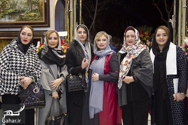 bazigaran عکسهای بازیگران در افتتاحیه فروشگاه همسر نیوشا ضیغمی (سری دوم)