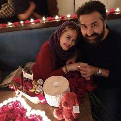 بهاره رهنما و همسرش در شب ولنتاین / ۳ عکس