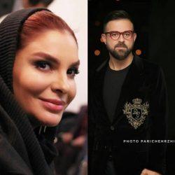 عکسهای هومن سیدی و همسرش در جشنواره فیلم فجر ۳۶