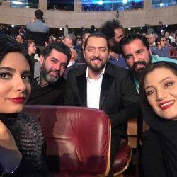 عکس های جدید بازیگران در افتتاحیه جشنواره فیلم فجر ۹۶ – سری دوم