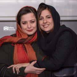 عکسهای مهراوه شریفی نیا در اکران فیلم دارکوب