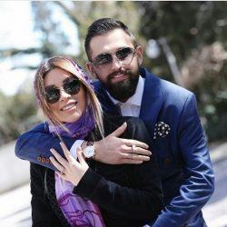 عکسهای مراسم عقد محسن افشانی و همسرش / ۳ عکس