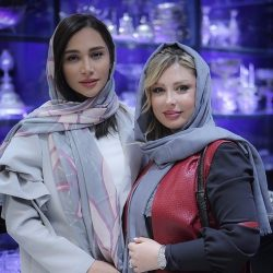 عکسهای بازیگران در افتتاحیه گالری همسر نیوشا ضیغمی