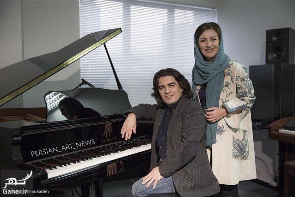 persian art news 1   BfjcUmVjPcl    e1519513143819 عکسهای سامان احتشامی (پیانیست معروف) و همسرش + بیوگرافی