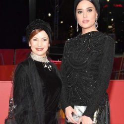 استایل متفاوت لیلی رشیدی در جشنواره فیلم برلین / ۲ عکس